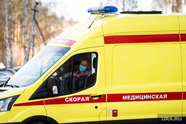 Вертолёт с девушкой из Магнитогорска, пострадавшей при падении в Оленьих ручьях. Екатеринбург, реанимация, медицина катастроф, экстренная помощь, машина реанимации