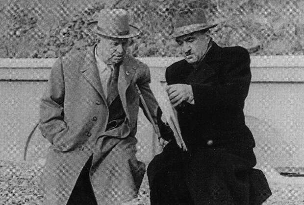 Никита Хрущев и Анастас Микоян
