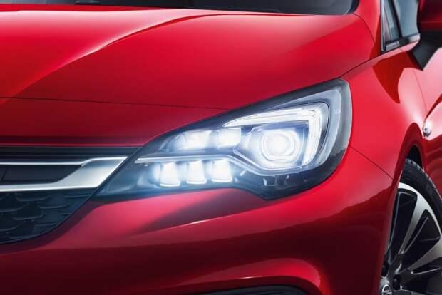 Opel Astra с фарами IntelliLux LED стала одним из самых продаваемых авто в  Европе