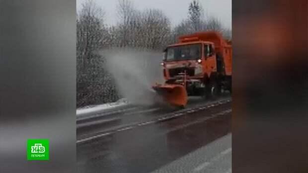 МЧС Ленобласти встречает первый снег и гололед во всеоружии