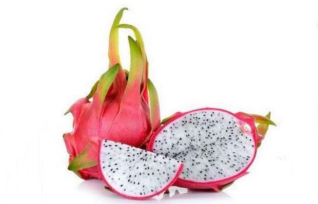 Драконий фрукт: помогает снизить холестерин.