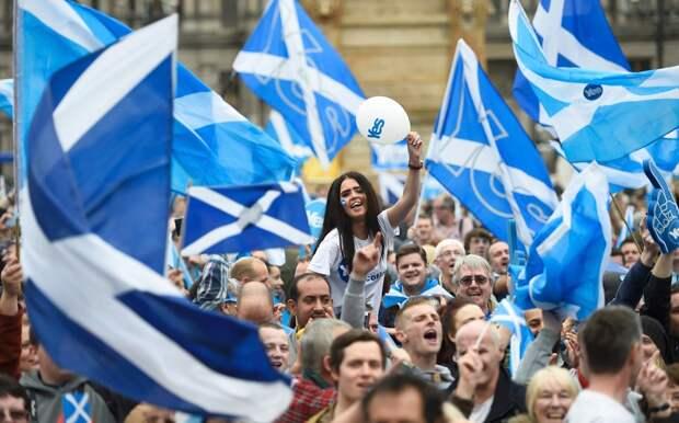 Ответ Лондону: Брюссель намерен поддержать сепаратистское движение в Шотландии