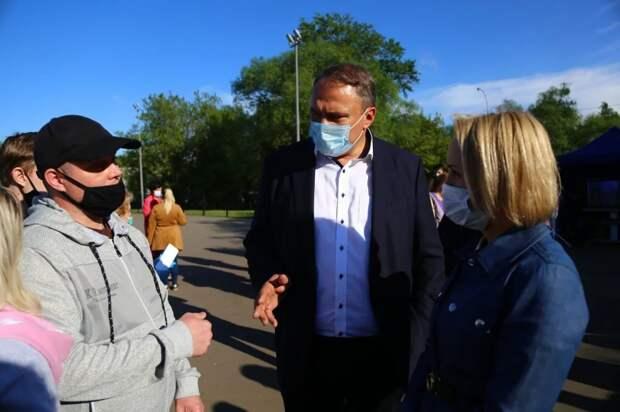 Петр Толстой: Капотню ждет новое качество городской среды благодаря программе реновации. Автор фото: Александр Чикин