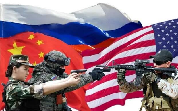 Повышение конфликтности США и России становится похоже на контуры двух сближающихся армий