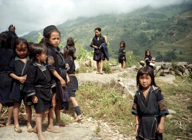 Чёрные хмонги.
