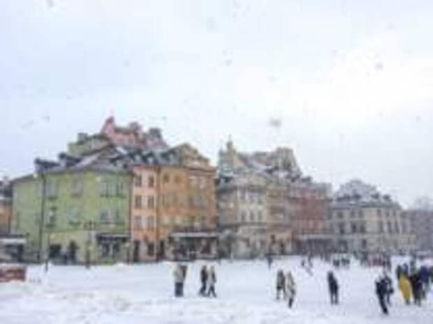 Зима вернулась в Восточную Европу
