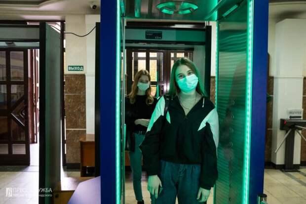 В Крымском федеральном университете установили дезинфицирующий комплекс