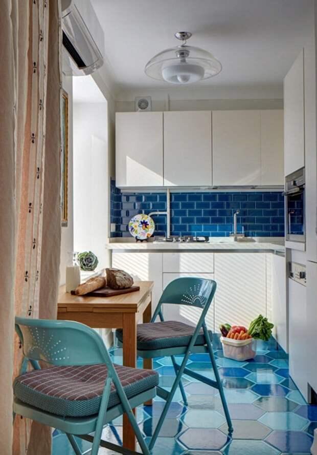 Малогабаритные кухни 5 кв. м: можно уместить всё. Идеи и реальные примеры