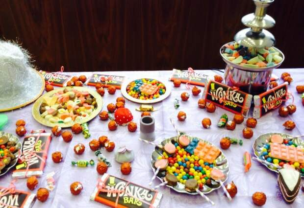 Шоколад от Вилли Вонки из Wonka Bar