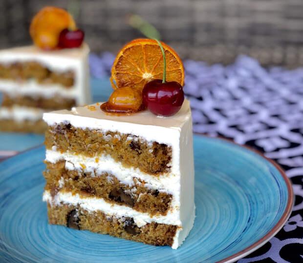 Самый аппетитный рецепт морковного торта