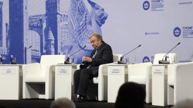 Генсек ООН назвал маловероятным появление миротворцев в Донбассе