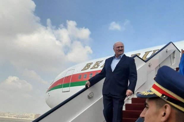 Лукашенко вылетел в Сочи на переговоры с Путиным