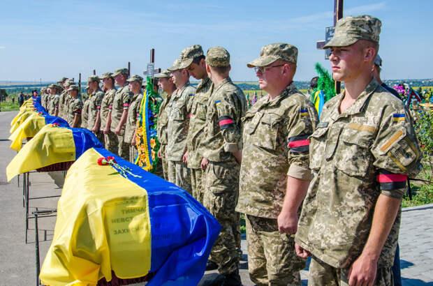 На Украине назвали общее число потерь на Донбассе