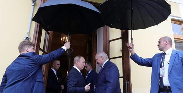 Лукашенко «увел» Путина» у Байдена