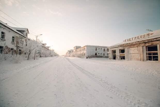 Поселок Комсомольский опустел практически полностью, вымерли целые улицы