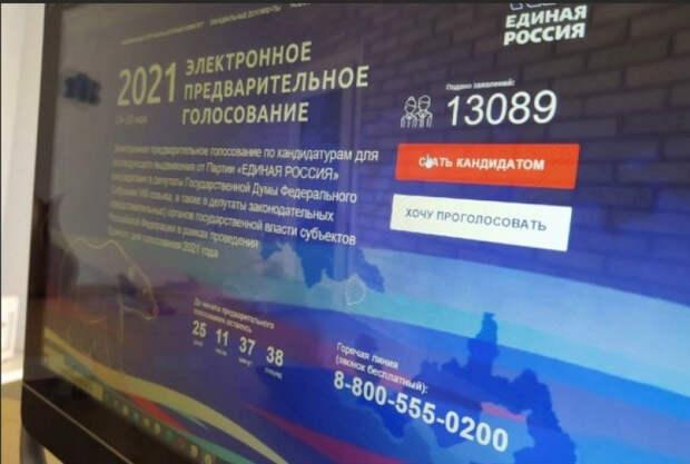 На праймериз «Единой России» зарегистрировалось полмиллиона сторонников Навального