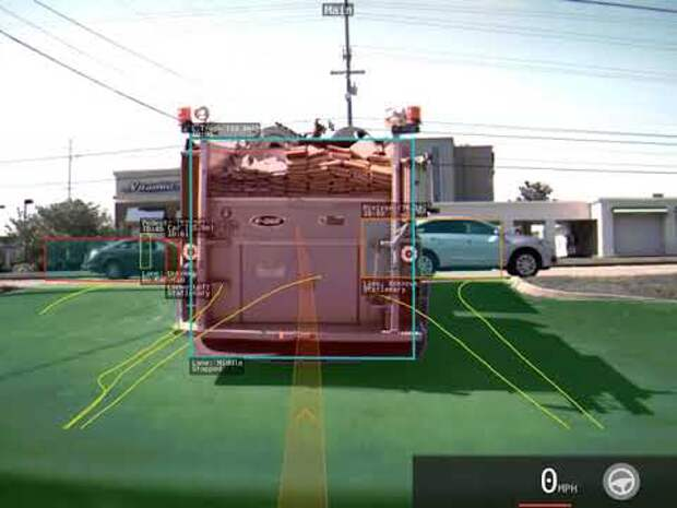 Автопилот Tesla – преследование пожарной машины