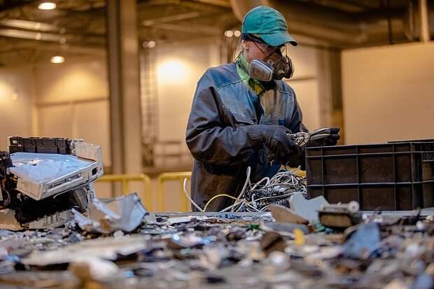 В Москве создадут площадки для сбора электронных отходов