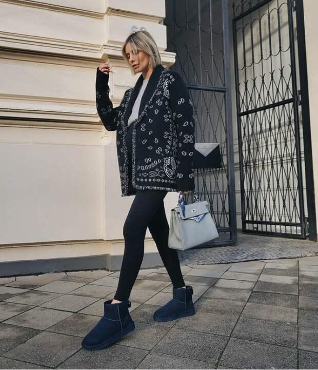 Модный блогер Лиза Ханбук. @instagram.com/lisahanbueck/