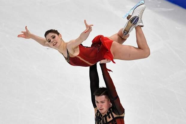 Мишина и Галлямов выиграли короткую программу командного ЧМ-2021. Россия - в лидерах общего зачета