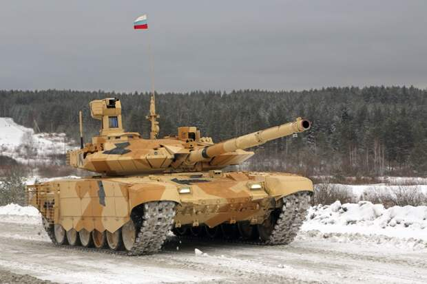 Аналитики The National Interest назвали обновленный T-90MC лучшим российским танком