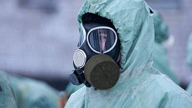 Военнослужащие Балтийского флота отразили атаку химическим оружием в ходе учений