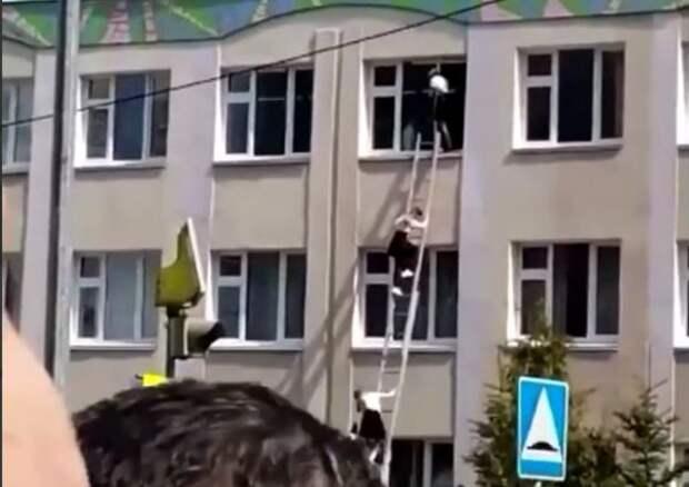 Вмэрии Казани заверили, что взрыва вовторой школе небыло