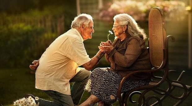 Луи и Роза жили в доме престарелых...