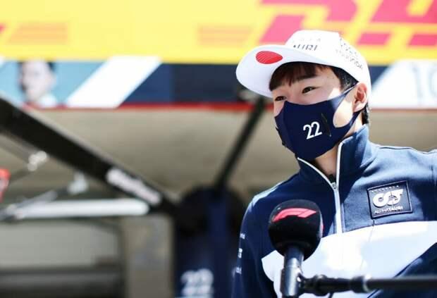 Юки Цунода извинился перед AlphaTauri за резкий комментарий о машине