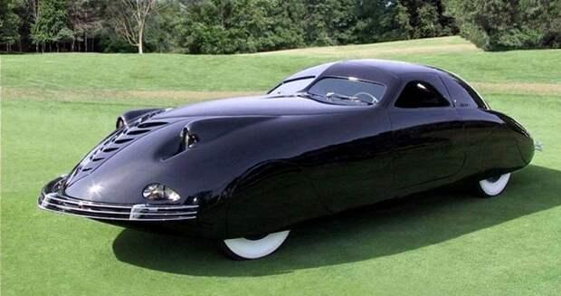 «Автомобиль завтрашнего дня» Phantom Corsair: удивительное сочетание эстетики и непрактичности