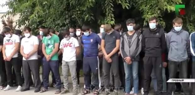 Всем республикам брать пример с Кадырова: Из столицы вывезли 100 молодых чеченцев