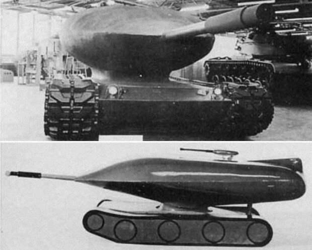 Атомный танк Chrysler TV-8.