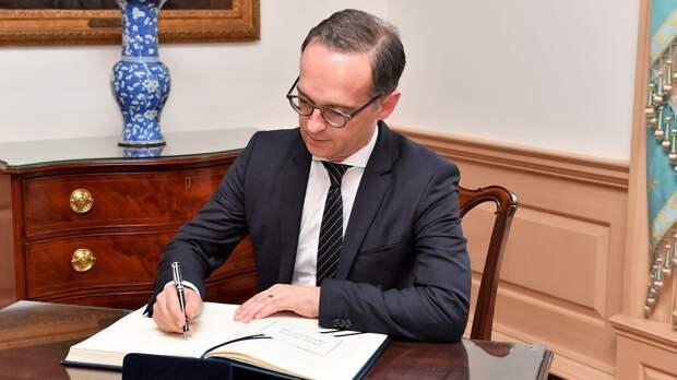 Глава МИД ФРГ заявил о готовности ЕС к диалогу с Кремлем