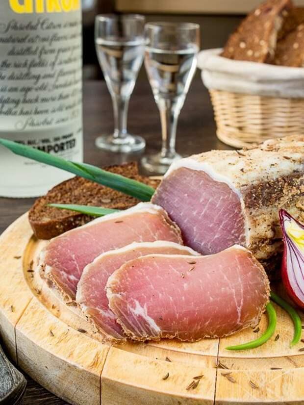 Как делают белорусский мясной деликатес – палендвицу (7 фото)