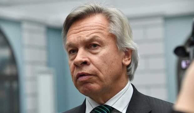 Сенатор Пушков заявил о желании украинских националистов начать войну с Россией