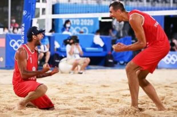 Россияне вышли в полуфинал олимпийского турнира по пляжному волейболу