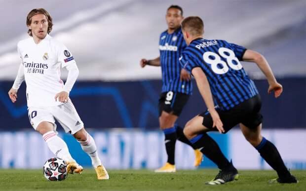 «Реал» обыграл «Аталанту» и вышел в четвертьфинал Лиги чемпионов