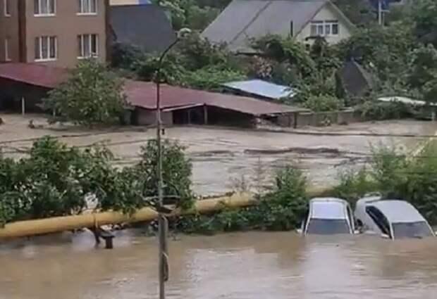 ВМЧС прокомментировали ситуацию вСочи после паводка