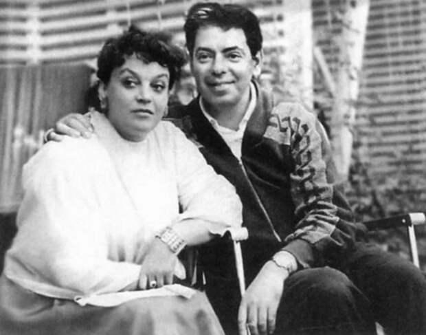 Райкин с женой фото 2.jpg