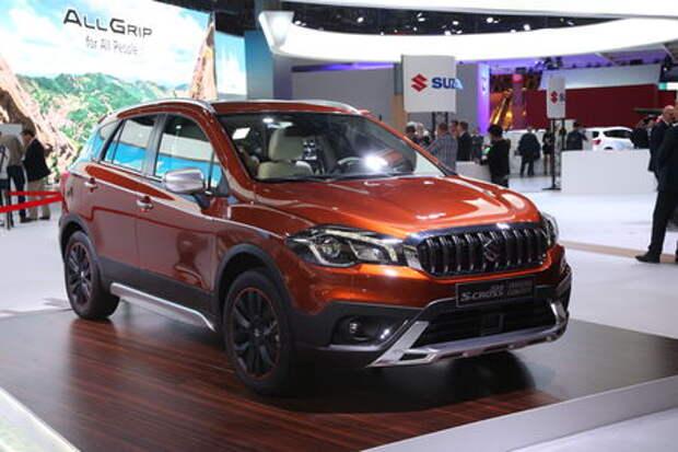 Прямо из Парижа: обновленный Suzuki SX4 приедет в Россию уже в октябре