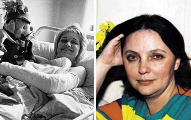 лариса савицкая на больничной койке