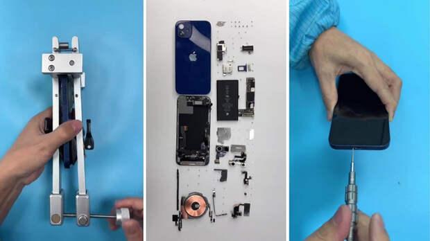 Как у Apple получилось сделать его тоньше и легче: первая разборка новенького iPhone 12