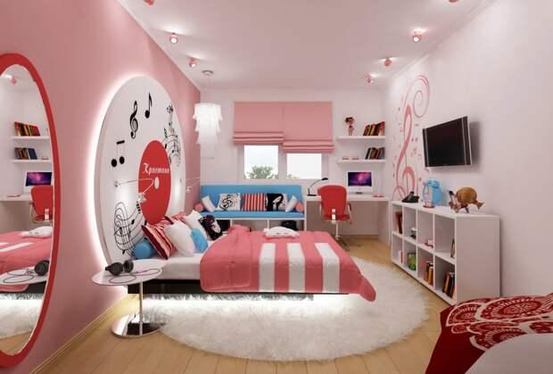 Идеи для комнаты девочки, девушки