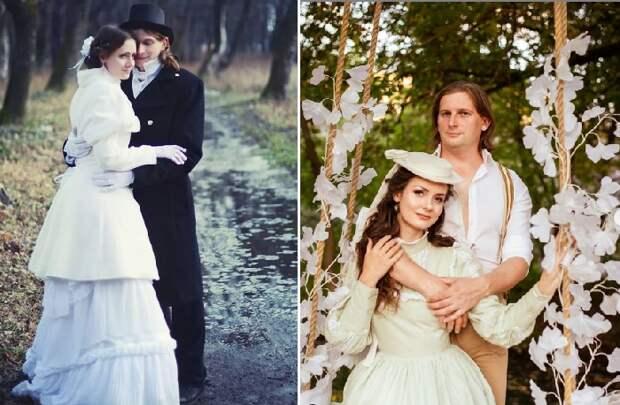 Мила Поворознюк с супругом. ¦ Фото: instagram.com.