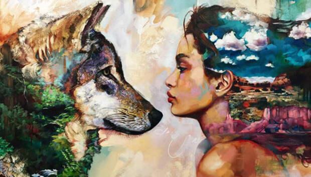 Юная художница-профессионал Димитра Милан и ее необыкновенные картины