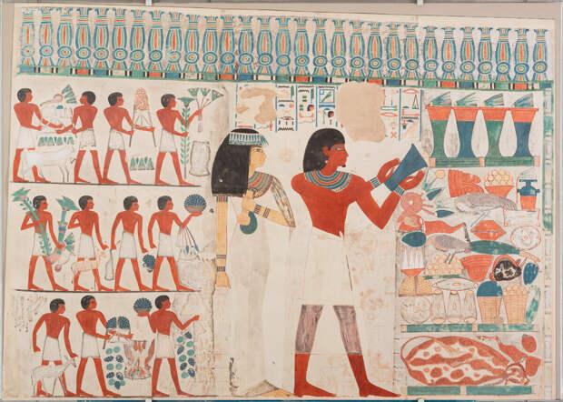 Шедевры из гробницы Нахта и Тауи