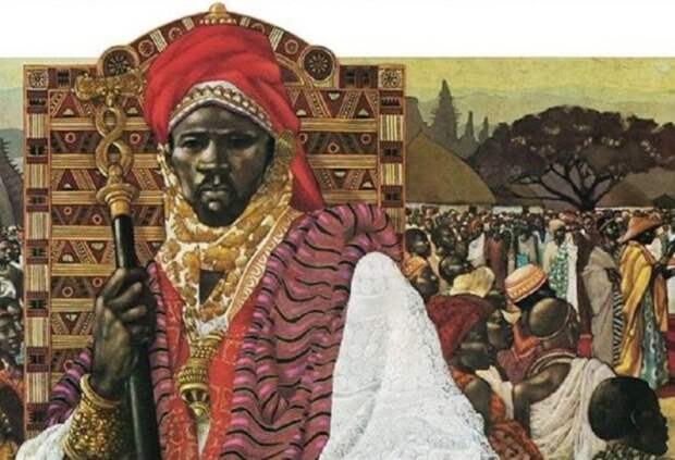 Тенкаменин - король Ганы.