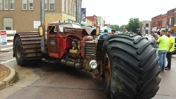 Чумовой трехколесный монстр авто, факты, шок