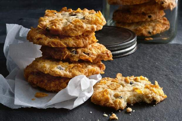 Печенье из кукурузных хлопьев