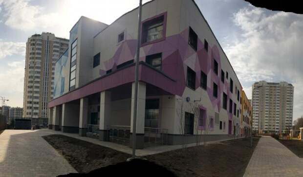 Завершено строительство детского сада в ЖК «Переделкино Ближнее»